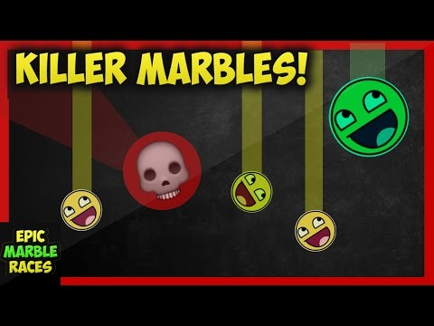 Epic Marble Race - Killer Marble Drop!
