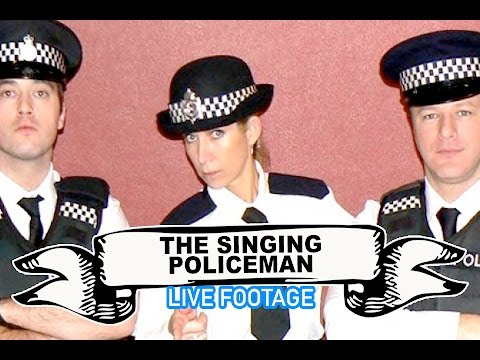 The Singing Policeman - Surprise Singers Video