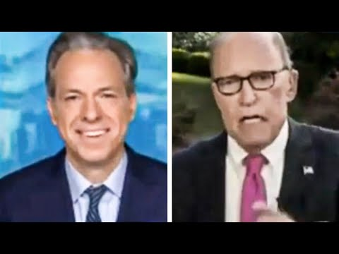 Jake Tapper LAUGHS At Larry Kudlow As He Lies About COVID