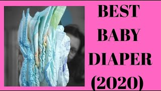 REVIEW OF 5 BABY DIAPERS ( 2020). Which is the best diaper for your baby? (honest review)