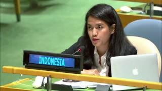 INDONESIA - 2nd Right Of Reply By Nara Masista Rakhamatia On UN
