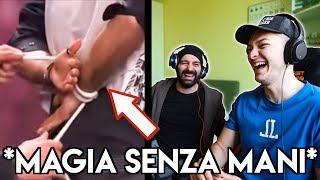 REAZIONE AL MAGO IN FINALE AD ITALIA'S GOT TALENT   Con Andrea Paris