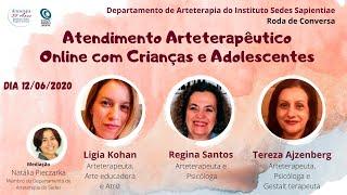Atendimento Arteterapêutico Online com Crianças e Adolescentes