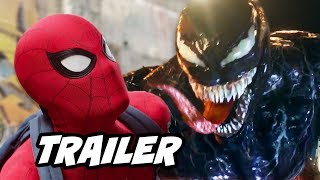 Spider Man Far From Home Trailer Venom Spider Man Teaser Explained By Kevin Feige