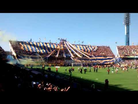 """""""Recibimiento Rosario Central vs Newells 2016"""" Barra: Los Guerreros • Club: Rosario Central"""