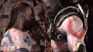 God of War 4 NG+ BALDUR Boss vs Blades of Chaos (GoW 2018 New Game+) PS4 Pro