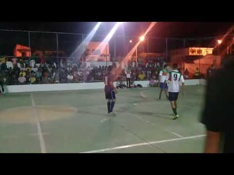 Maxixe x Ouro Verde final no campeonato de Futsal em Angico