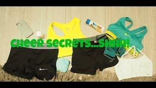 Cheer Secrets...Shhhh!