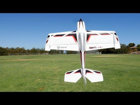E-Flite Night VisionAire RC Plane Demo Video