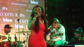 R&B Diva Meelah  Williams performs I Still Love You live at SOBs for RnB Spotlight 2014