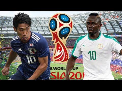 Xem lại trận đấu Nhật Bản vs Senegal || Vòng Bảng FIFA World Cup 2018