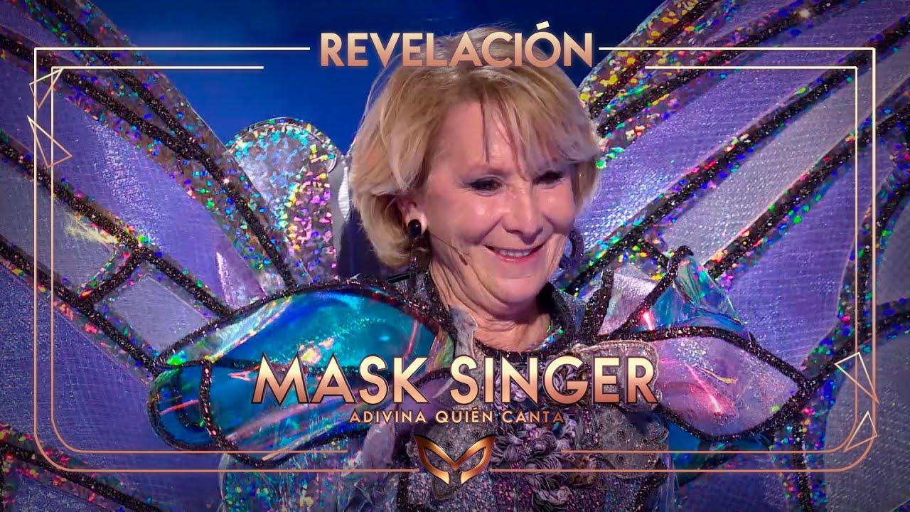 Esperanza Aguirre desemmascarada a 'Mask Singer 2'