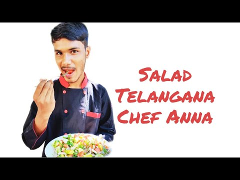 Telangana Chef Anna | Md.Sohail hussain | Salad Recipe | Cooking Boy With Luv.