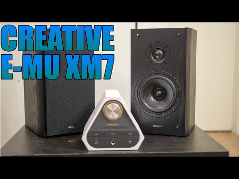 Creative E-MU XM7 Review 2016 | BEST PC / Bookshelf Speakers That I Have Ever Owned