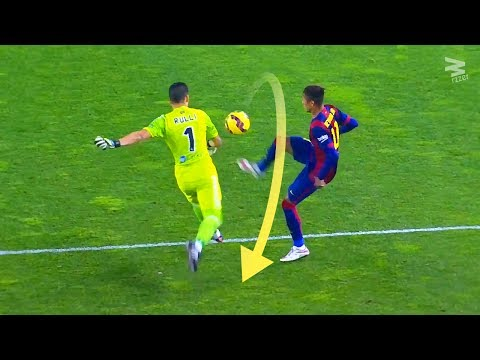 Top 10 Stealing The Ball From Goalkeepers