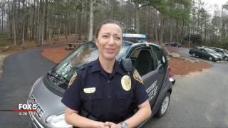 Peachtree City police patrol car