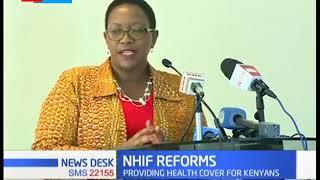 CS Kariuki launch NHIF reforms in a bid to achieve the universal healthcare