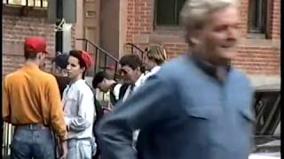 Cheers Filming in Boston 1992