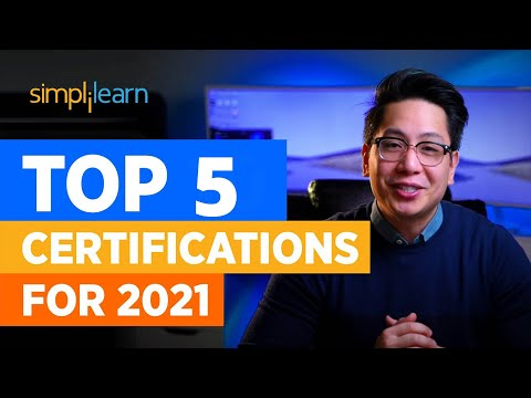 Top 5 Certifications For 2021 | Highest Paying Certifications | Best IT ...