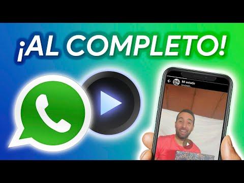 PON ASÍ vídeos COMPLETOS en tu ESTADO de WhatsApp!!