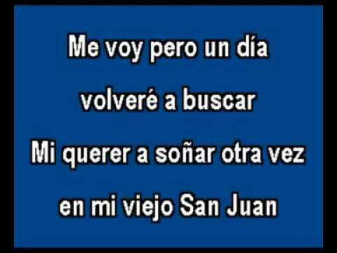 Mi viejo San Juan Javier Solis