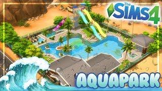 MR.OLKAN'S WATER PARK || The Sims 4 Speed Community Lot Build AquaPark