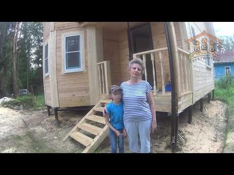 Гомзова Н.С. - видеоотзыв о строительстве