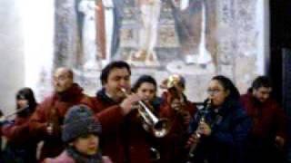 preview picture of video 'La Banda Musicale Città di Gallese suona la Sveglia dell'Immacolata, 8 dicembre ore7 40'