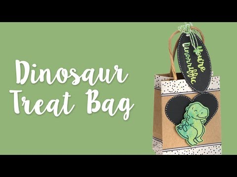 DIY Dinosaur Gift Bags For Any Occasion! | Sizzix