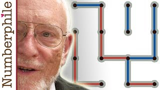 How to always win at Dots and Boxes - Numberphile