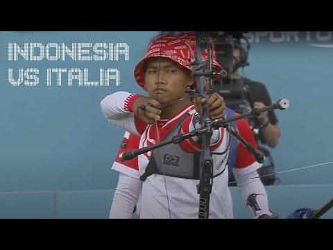 Road to Tokyo - Indonesia vs Italia