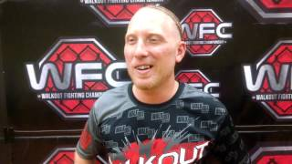 Walkout FC: 5 - Josh Cooper - Pre Fight Interview