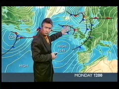 BBC Weather 18th February 2002