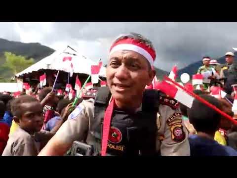Binmas Noken Polisi Pi Ajar di Kabupaten Puncak Jaya