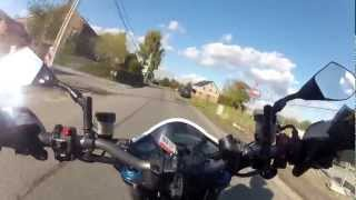 preview picture of video 'cb1000r gopro HD hero2 Moresnet Diouniboy et Deb'