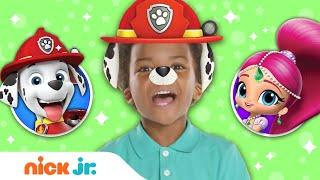 Junior Dress Up Party! ft. PAW Patrol + Shimmer & Shine 🌟 Ep. 6 | Nick Jr.