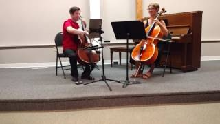 Jeff & Olivia at 2017 Faculty Concert