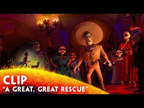"'A Great, Great Rescue"" Clip - Disney/Pixar's Coco"