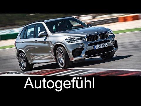 2015/2016 new BMW X5 M racetrack, sound, exterior, interior - Autogefühl