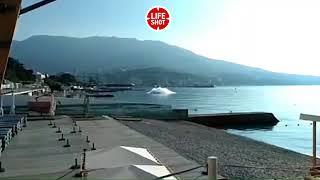 Взрыв на побережье