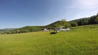 Perfect Day For Flying at the Whippoorwill Farm