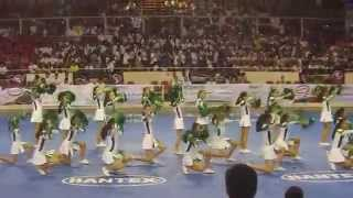 WNCAA 2015 Cheering Competition - DLSZ Baby GAP Routine
