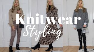 Knitwear Styling | 10 Outfits To Style This Autumn