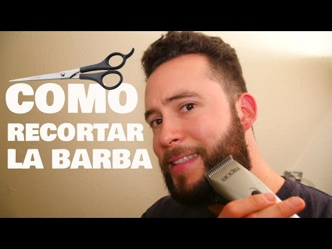 COMO RECORTAR TU BARBA