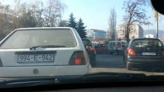 preview picture of video 'Banjaluka saobraćaj,vozačka (ne)kultura'