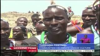 14 communities showcase their different cultures as they celebrate at the Turkana festival