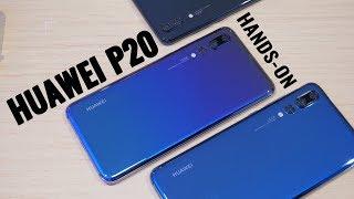 Huawei P20 és P20 Pro bemutató