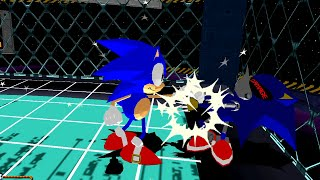 Sonic the Fighters - Sonic The Hedgehog Longplay (PS3)