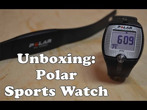 Unboxing & Test: Polar FT1 Sports Watch + Monitor