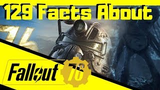 129 Facts About Fallout 76 | EVERYTHING I KNOW SO FAR!